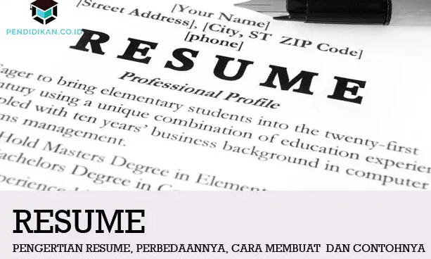 pengertian-resume